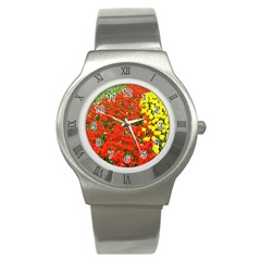 Flower1 Stainless Steel Watch