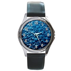 Water3 Round Metal Watch