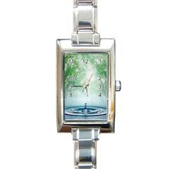 Water4 Rectangular Italian Charm Watch