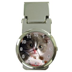 Cat1 Money Clip Watch