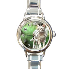 Cat2 Round Italian Charm Watch