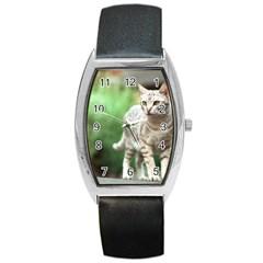 Cat2 Barrel Style Metal Watch