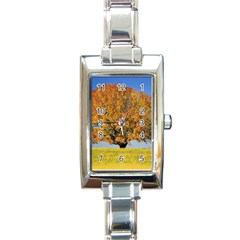 Tree1 Rectangular Italian Charm Watch