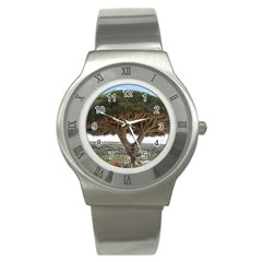 Tree2 Stainless Steel Watch