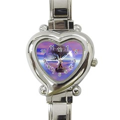 Tree3 Heart Italian Charm Watch