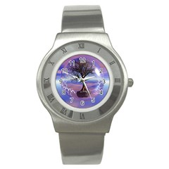 Tree3 Stainless Steel Watch