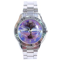Tree3 Stainless Steel Analogue Men's Watch