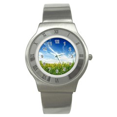 Land1 Stainless Steel Watch