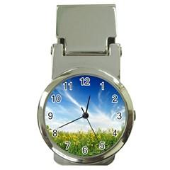 Land1 Money Clip Watch