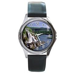 Land2 Round Metal Watch