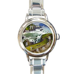 Land3 Round Italian Charm Watch