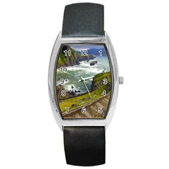 Land3 Barrel Style Metal Watch