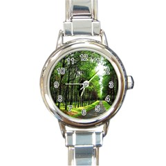 Land4 Round Italian Charm Watch
