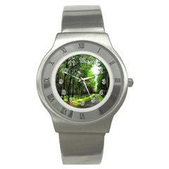 Land4 Stainless Steel Watch