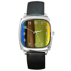 cr3 Square Metal Watch
