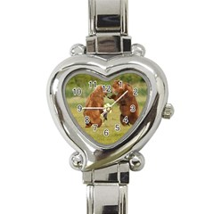 bear4 Heart Italian Charm Watch