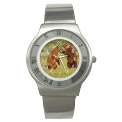 Bear4 Stainless Steel Watch