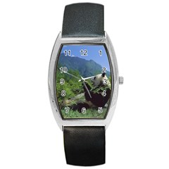 bear5 Barrel Style Metal Watch
