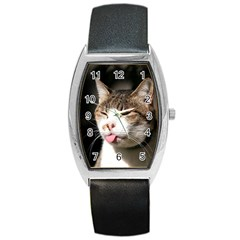 cat4 Barrel Style Metal Watch