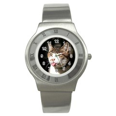 Cat4 Stainless Steel Watch