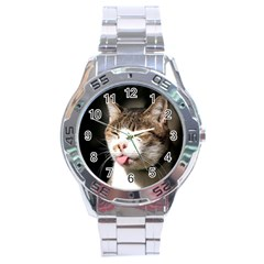 cat4 Stainless Steel Analogue Men's Watch