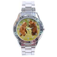 bear4 Stainless Steel Analogue Men's Watch