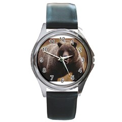 Bear2 Round Metal Watch