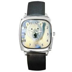 Bear1 Square Metal Watch