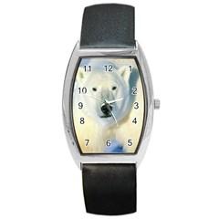 Bear1 Barrel Style Metal Watch