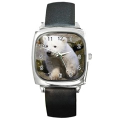 Bear3 Square Metal Watch