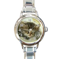 Cat3 Round Italian Charm Watch