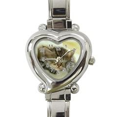 Cat3 Heart Italian Charm Watch