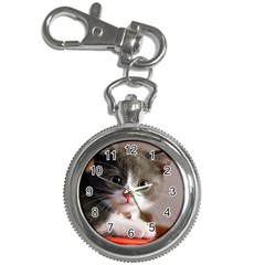 Cat1 Key Chain Watch