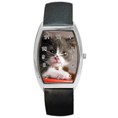 Cat1 Barrel Style Metal Watch