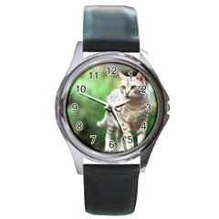 Cat2 Round Metal Watch