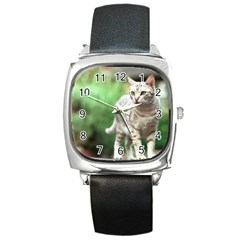 Cat2 Square Metal Watch