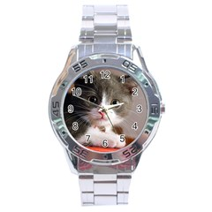 Cat1 Stainless Steel Analogue Men's Watch