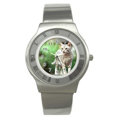 Cat2 Stainless Steel Watch