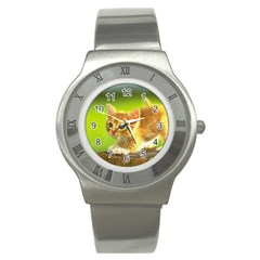 cat5 Stainless Steel Watch