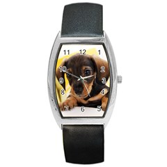 Dog3 Barrel Style Metal Watch