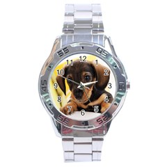 Dog3 Stainless Steel Analogue Men's Watch