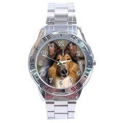 Dog4 Stainless Steel Analogue Men's Watch