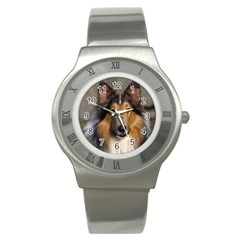 Dog4 Stainless Steel Watch