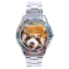 Red Panda2 Stainless Steel Analogue Men's Watch
