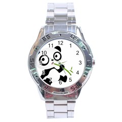 Panda3 Stainless Steel Analogue Men's Watch