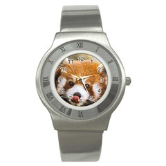 Red panda2 Stainless Steel Watch