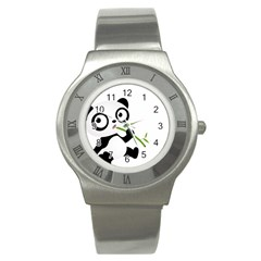 Panda3 Stainless Steel Watch