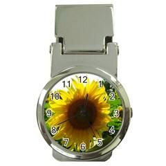 Flower2 Money Clip Watch