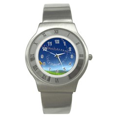 Flower3 Stainless Steel Watch