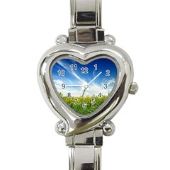 Land1 Heart Italian Charm Watch